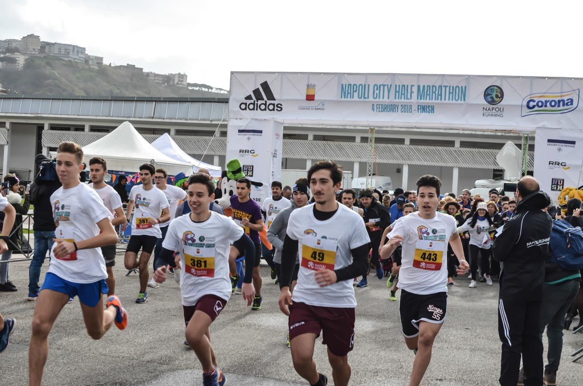 Napoli Half Marathon 2018 sponsor Corona