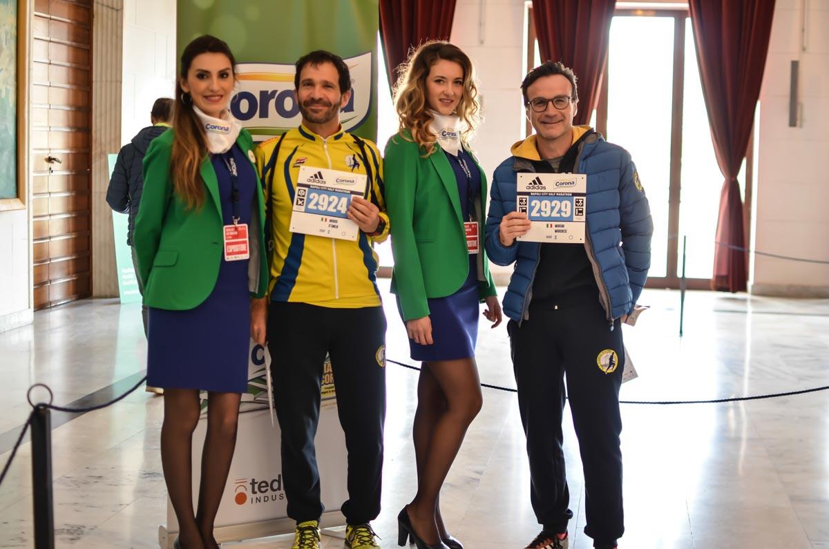 Carta Corona Sponsor Napoli Half Marathon