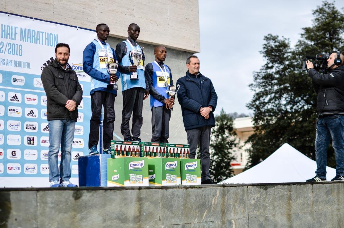 Corona Premiati della maratona