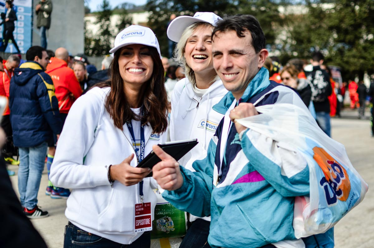 Corona Half marathon Napoli